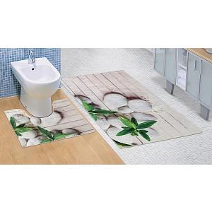 Koupelnová a WC předložka Jadran 3D