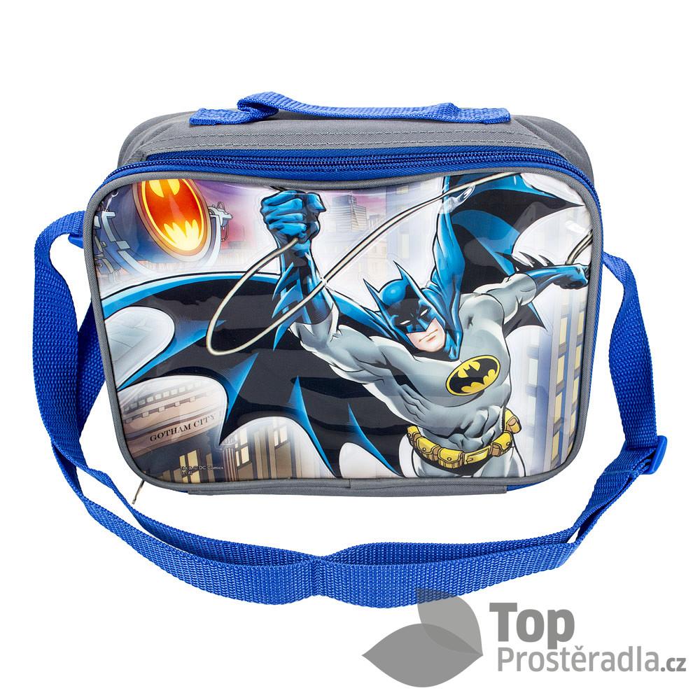 TOP Dětská termo taška na svačinu - Batman
