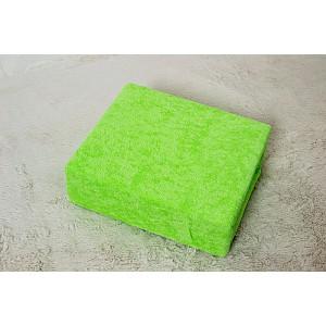 Froté prostěradlo do postýlky (60 x 120) Premium - Májová zelená