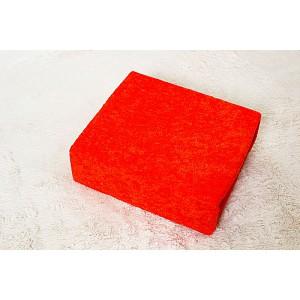 Froté prostěradlo do postýlky (60 x 120) Premium - Oranžová