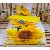 3D povlečení 140x200 + 70x90 - Slunečnice