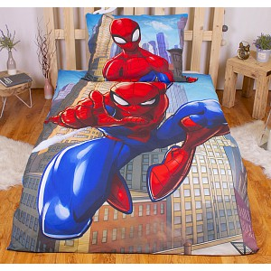 Bavlněné povlečení 140x200+70x90 Spiderman
