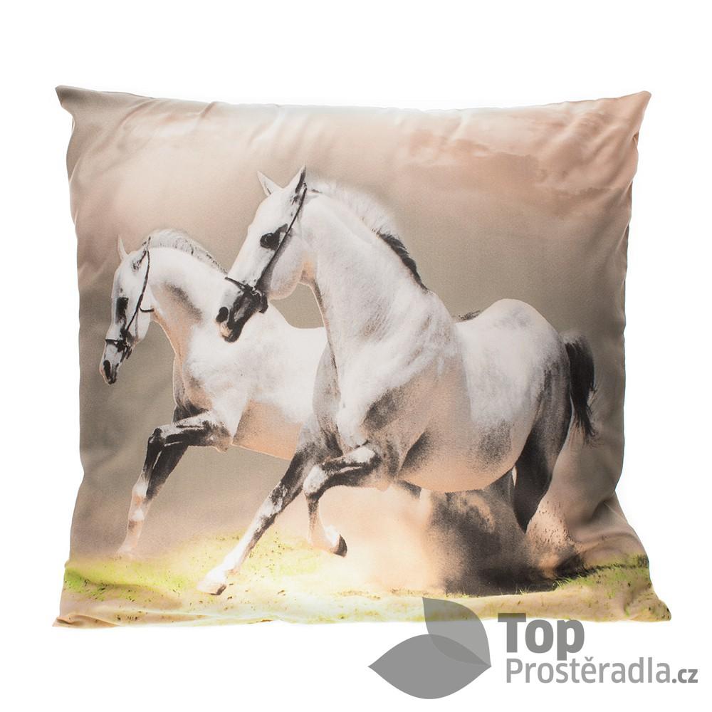 Apex 3D povlak 45x45 Koně