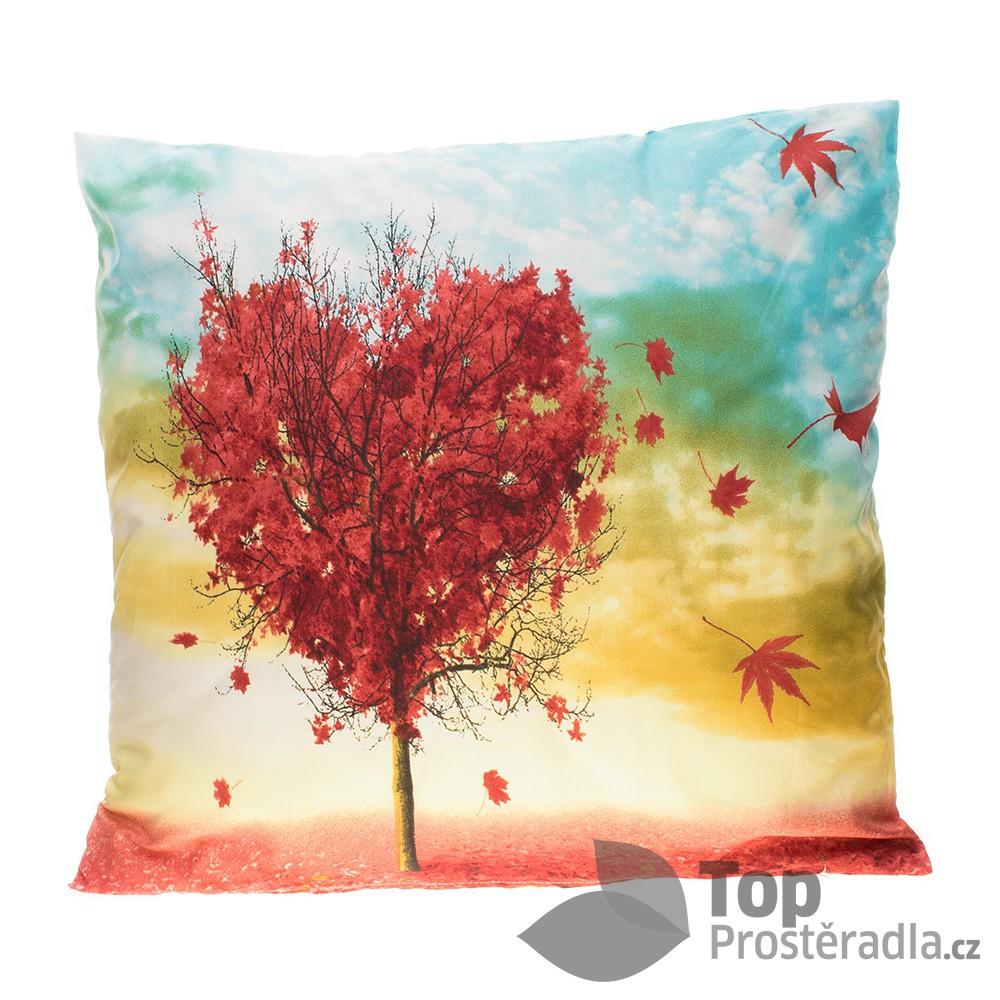 Apex 3D povlak 45x45 Zamilovaný podzim