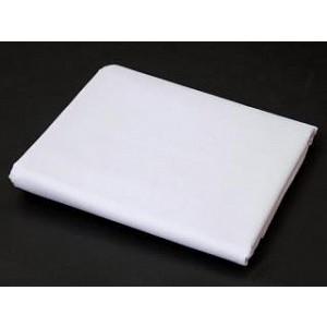PREMIUM - Prostěradlo bavlněná plachta 140x240 - Bílá