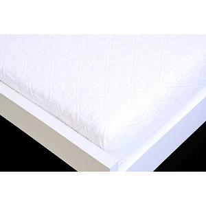 Žakárové prostěradlo (160 x 200) Premium - Bílá