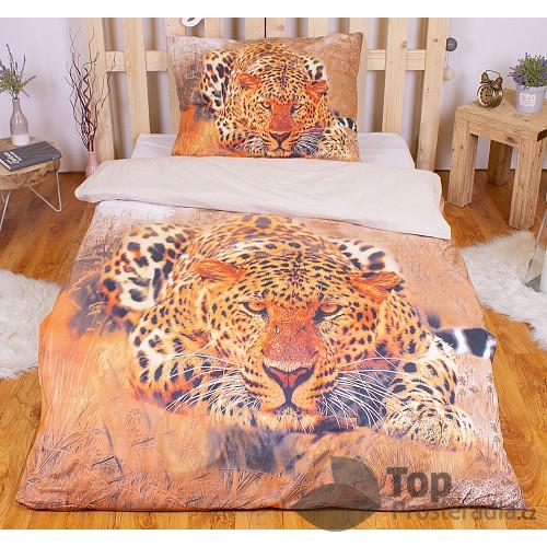 3D povlečení 140x200 + 70x90 - Gepard Wild