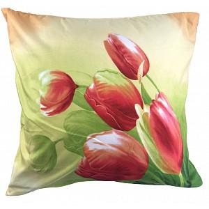 3D povlak 45x45 - Tulipány