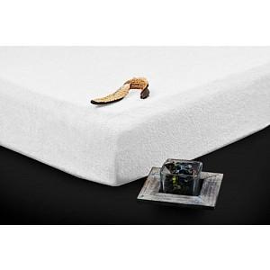 Froté prostěradlo do postýlky (60 x 120) Premium - Bílá