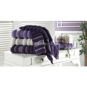 Froté ručník Paris LUX - TMAVĚ FIALOVÁ