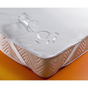 Nepropustný Chránič matrace PVC s froté úpravou 180x200