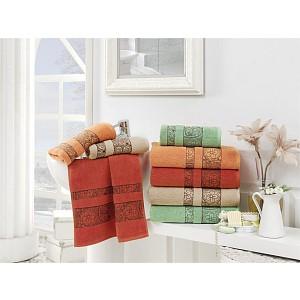 Froté ručník Maroko - Cihlová
