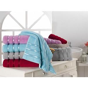 Froté ručník MONTANA LUX - Světlý tyrkys