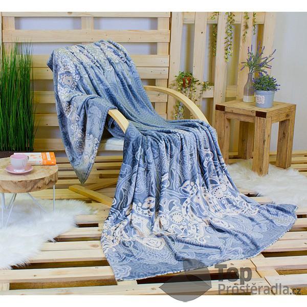 Deka mikroflanel DELUXE 150 x 200 - Elegance