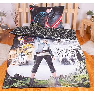 Bavlněné povlečení Star Wars VIII 140x200 70x90