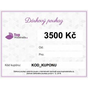 Dárkový poukaz na 3500 Kč