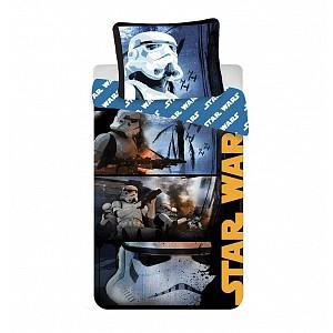 Bavlněné povlečení Star Wars Stormtroopers 140x200 70x90