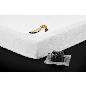 Froté prostěradlo (90 x 200) Premium - Bílá