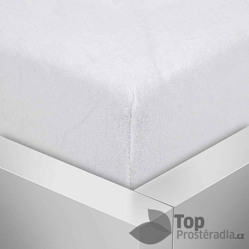 TP Froté prostěradlo Premium 190g/m2 90x200 Bílá