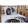 3D povlečení 140x200 + 70x90 - Silver chopper