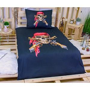 3D povlečení 140x200 + 70x90 - Pirát