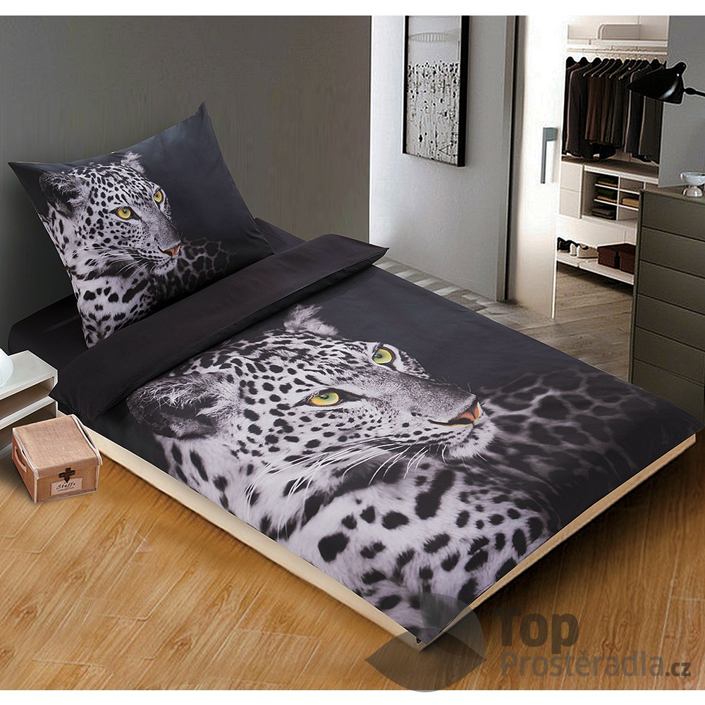 3d povle en 140x200 70x90 levhart topprost. Black Bedroom Furniture Sets. Home Design Ideas