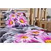 3D povlečení 140x200 + 70x90 - Růžové kopretiny