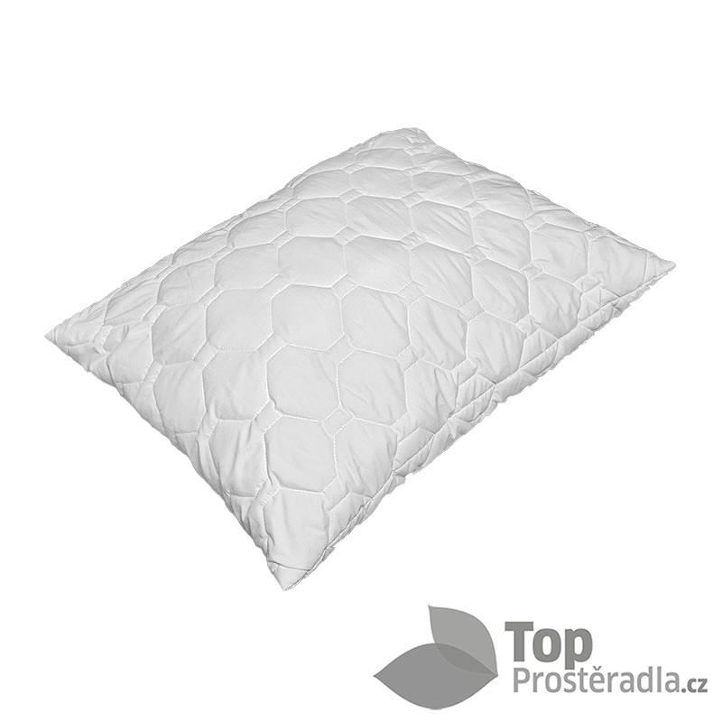 TOP Prošívaný polštář Comfort plus 70x90 Antialergenní, paměťové kuličky