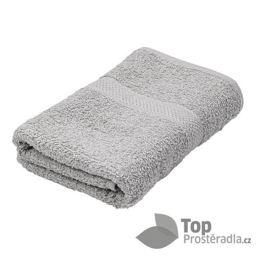 Froté ručník ECONOMY - šedá