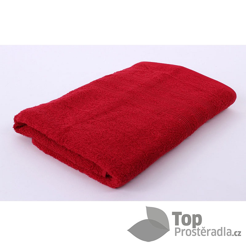 TP Froté osuška ECONOMY 70x140 Červená