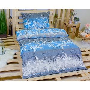Bavlněné povlečení SYMPHONIE blue 140x200+70x90
