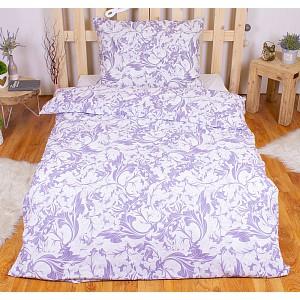 Bavlněné povlečení ZEFÍR lila 220x200+2x70x90