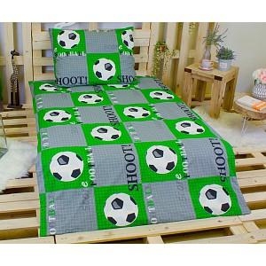 Bavlněné povlečení 140x200+70x90 Fotbalový míč