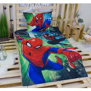 Bavlněné povlečení 140x200+70x90 Spiderman on air