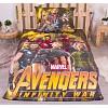 Bavlněné povlečení 140x200+70x90 Avengers Infinity war