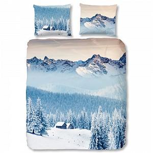 Bavlněné povlečení Good morning 200x200+2x60x70 Mountains