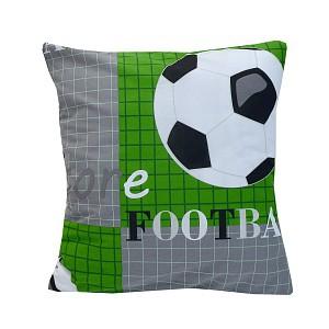 Povlak na polštářek Fotbalový míč 40x40