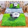 3D povlečení 140x200 + 70x90 - Fotbal II