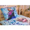 Bavlněné povlečení Frozen Sisters 140x200+70x90 (ve tmě svítí)