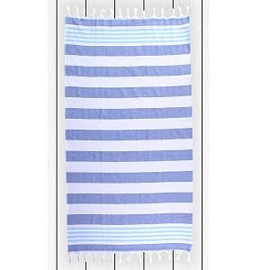 Plážová osuška SANTORINI 90x170 - Dark blue