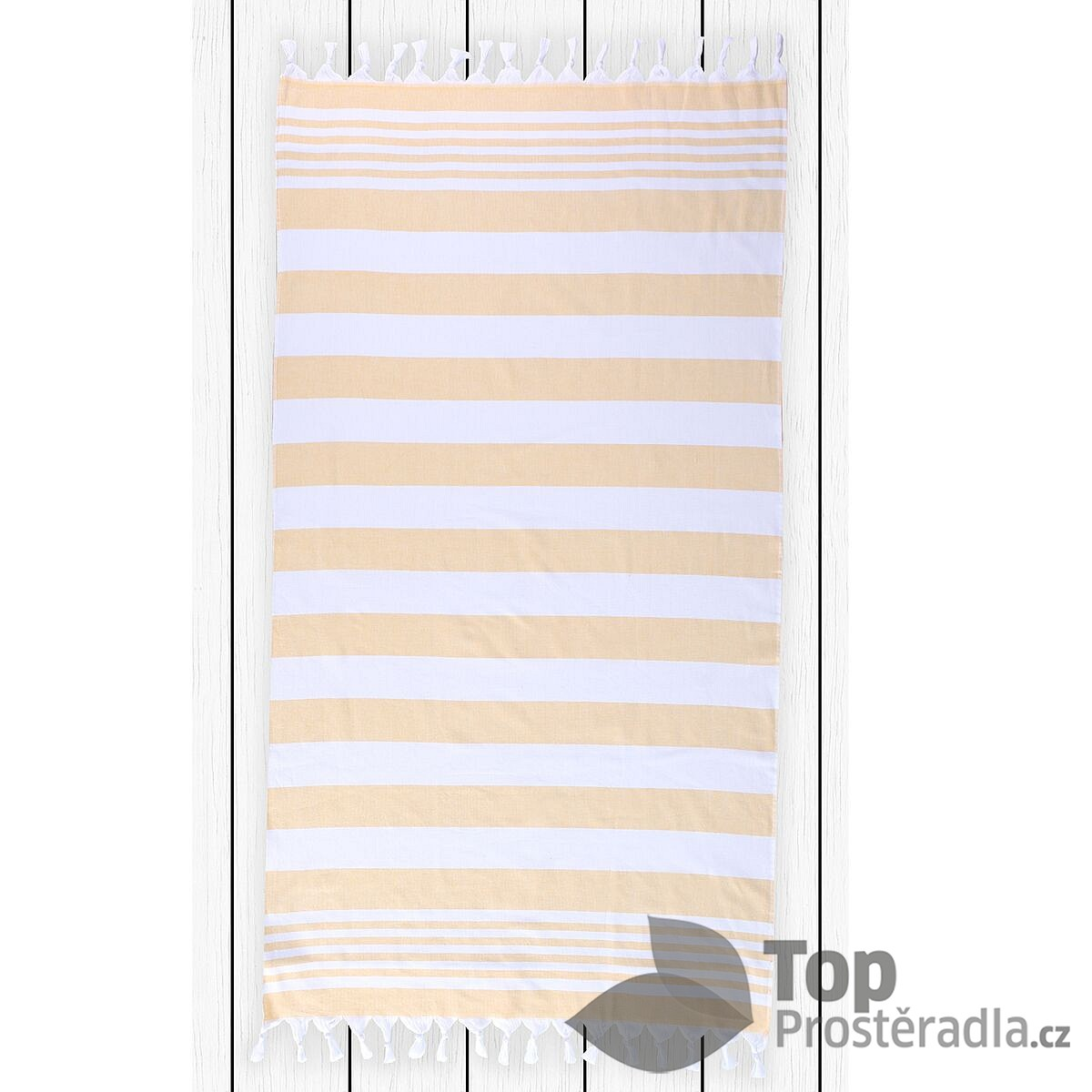 TOP Plážová osuška SANTORINI 90x170 Yellow