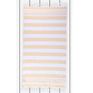Plážová osuška SANTORINI 90x170 - Yellow