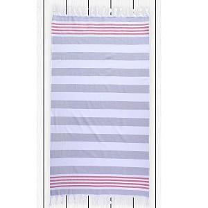 Plážová osuška SANTORINI 90x170 - Grey