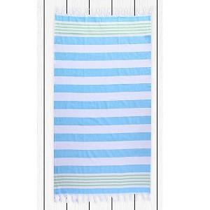 Plážová osuška SANTORINI 90x170 - Turquoise