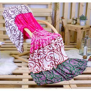Deka mikroflanel 150x200 Orient Pink