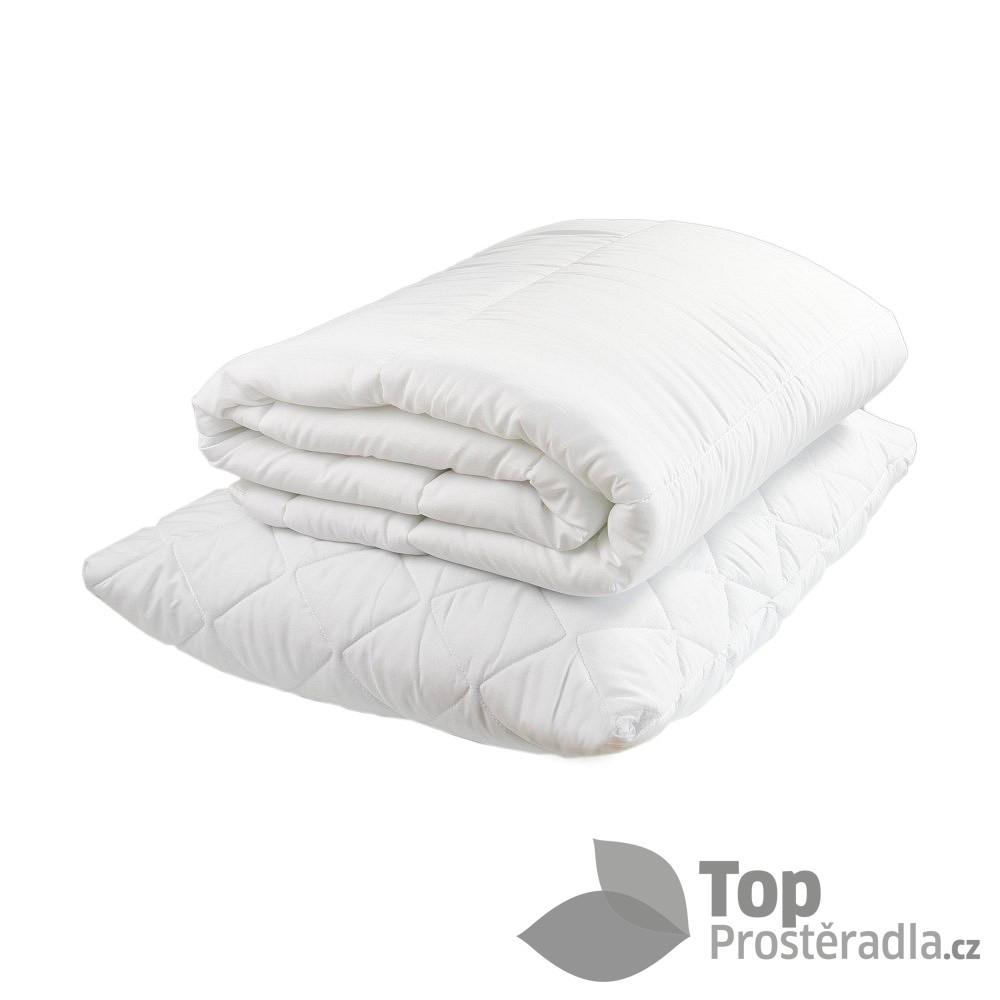 TOP Sada doplňovacího polštáře a přikrývky 70x90 140x200 Duté vlákno Antialergenní