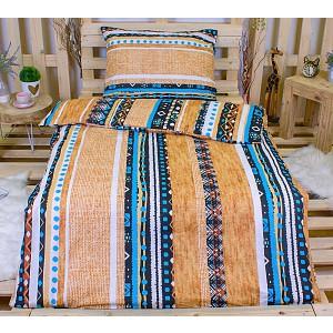 Bavlněné povlečení 140x200+70x90 - Indiánské vzory