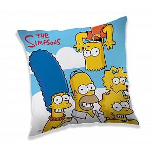 Dekorační polštářek 40x40 cm - Simpsons Clouds