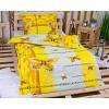 Bavlněné povlečení 140x200+70x90 - Yellow butterfly