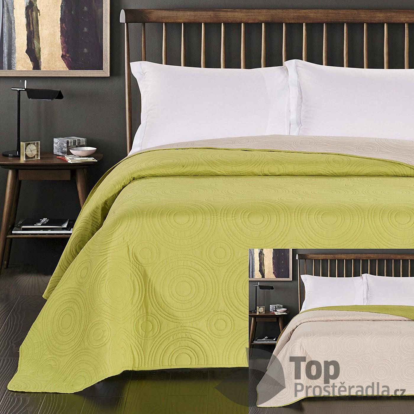TOP Prošívaný dekorační přehoz 240x260 Anthony Limo-Bei